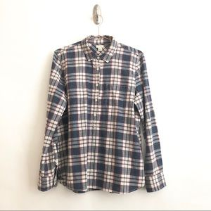 J. Crew Plaid Button Up